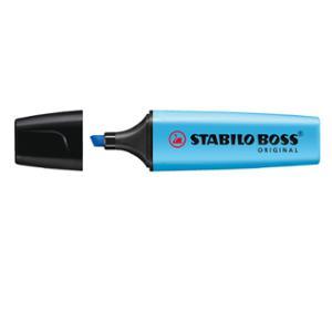 STABILO BOSS HIGHLIGHTER2-5MM  BLUE - BOX OF 10