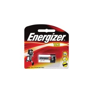 ENERGIZER LITHIUM CR123 BATTERY 3V - EACH