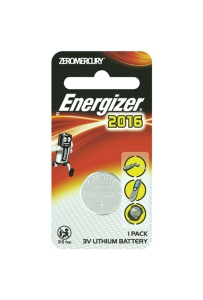 ENERGIZER LTIHIUM COIN CR2016 BATTERY - EACH