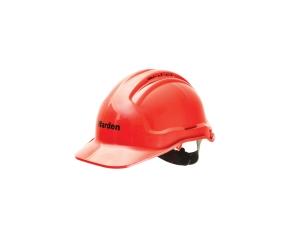 FIRE WARDEN HARD HAT RED - EACH