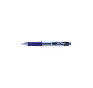 LYRECO PREMIUM RETRACTABLE GEL INK PENS 0.7MM BLUE - BOX OF 12