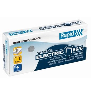 RAPID STAPLES 66/6MM - PACK OF 5000