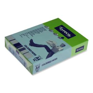LYRECO INTENSE TINTED PAPER 80GSM A4 GREEN - REAM OF 500 SHEETS