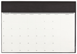 TABLETOP PLANNER DEBDEN MONTH TO A VIEW 375X545MM