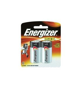 ENERGIZER MAX C BATTERY - PACK OF 2