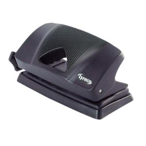 LYRECO 10 SHEET 2-HOLE PUNCH BLACK - EACH