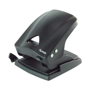 LYRECO 40 SHEET 2-HOLE PUNCH BLACK - EACH