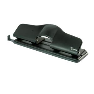 LYRECO 4-HOLE PUNCH 15 SHEET BLACK - EACH **WHILE STOCKS LAST**