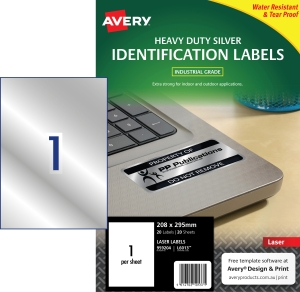 BX20 AVERY L6013 LASER LABEL 210X297