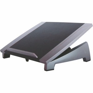 FELLOWES OFFICE SUITE NOTEBOOK RISER BLACK AND SILVER - EACH