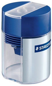 STAEDTLER DOUBLE HOLE BARREL SHARPENER - EACH