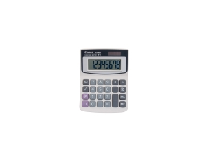 CANON LS82ZBL 8 DIGIT DESKTOP CALCULATOR DUA POWER 111X88X32MM - EACH