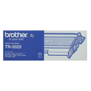 BROTHER LASER TONER CARTRIDGE TN-2025 BLACK - EACH
