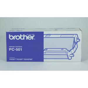 BROTHER FAX CARTRIDGE PC-501 BLACK - EACH