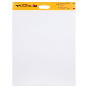 3M POST-IT WHITE WALL HANGING PAD 508MM X 609MM - PACK OF 2 PADS