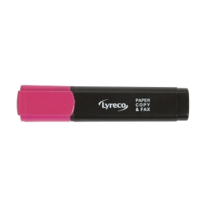 LYRECO HIGHLIGHTER 1-5MM PINK - BOX OF 10