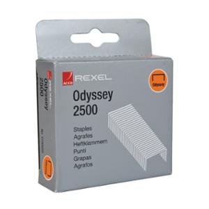 REXEL ODYSSEY STAPLES - PACK OF 2500