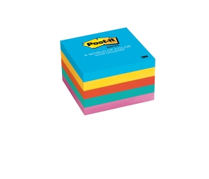 POST-IT NOTES 76 X 76MM JAIPUR - PACK OF 5