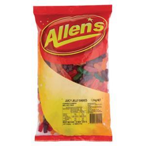ALLEN S CONFECTIONARY JELLY BABIES CANDIES 1.3KG - EACH