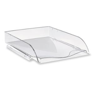 LYRECO LETTER TRAY A4 260 X 351 X 69MM CRYSTAL - EACH