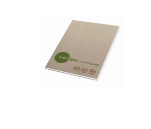 TUDOR 70% RECYCLED ECO RULED NOTE PAD A4 50 LEAF - EACH