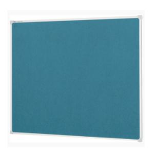 QUARTET VELOUR NOTICEBOARD BLUE 900X600MM - EACH