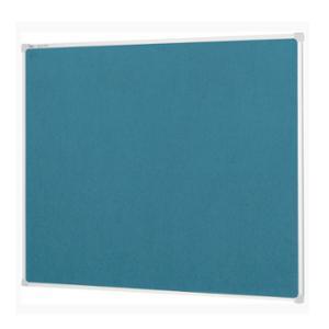 QUARTET VELOUR NOTICEBOARD BLUE 1200X900MM - EACH
