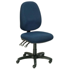 SEATING SOLUTIONS POSTURIGHT HIGH BACK TASK CHAIR BLACK - EACH