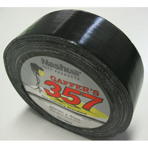 NASHUA 357 GAFFER TAPE 48MM X 40M SILVER - EACH