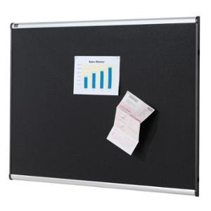 QUARTET PRESTIGE ALUMINIUM FRAME BLACK FOAM BOARD 1800X1200MM - EACH