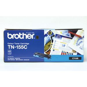 BROTHER LASER TONER CARTRIDGE TN-155 HIGH YIELD CYAN - EACH