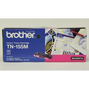 BROTHER LASER TONER CARTRIDGE TN-155 HIGH YIELD MAGENTA - EACH