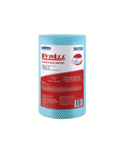 94159 WypAll* Blue Colour Coded Heavy Duty Wiper Roll, 107 wipers/roll