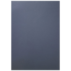 BINDING COVER LEATHERGRAIN NAVY BLUE - PACK OF 100