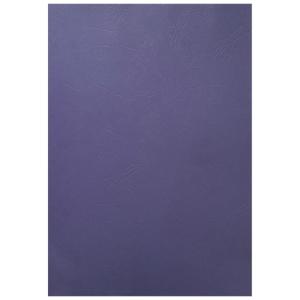 BINDING COVERS LEATHERGRAIN ROYAL BLUE - PACK OF 100