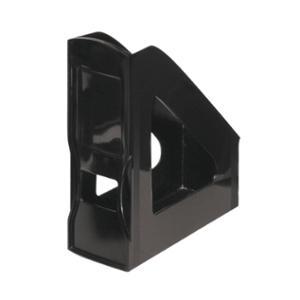 ESSELTE NOUVEAU MAGAZINE FILE 90 X 290 X 290MM BLACK - EACH