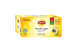 LIPTON TEA CUP STRING & TAG TEA BAGS – BOX OF 1000