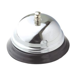 ITALPLAST RECEPTION COUNTER BELL 85 X 60MM CHROME - EACH
