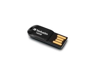 VERBATIM STORE N GO MICRO USB FLASH DRIVE BLACK 16GB - EACH