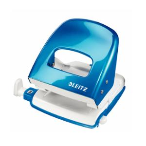 LEITZ WOW 2 HOLE PUNCH 30 SHEET BLUE