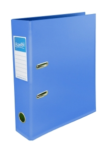 BANTEX FRUITS LEVER ARCH FILE A4 70MM BLUBERRY - EACH