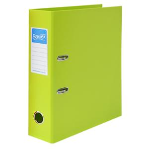 BANTEX FRUITS LEVER ARCH FILE A4 70MM  LIME - EACH