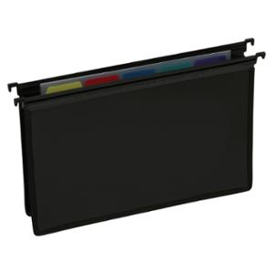 CUMBERLAND EXECUTIVE HEAVY DUTY EXTRA CAPACITY SUSPENSION FILE BLACK - PACK OF 5