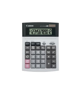 CANON WS-1210HIIII 12 DIGIT DESKTOP CALCULATOR 198X150X38MM - EACH