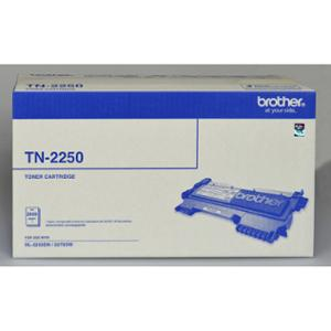 BROTHER LASER TONER CARTRIDGE TN-2250 BLACK - EACH