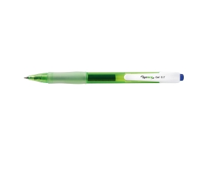 LYRECO 80% RECYCLED RETRACTABLE GEL PEN 0.7MM BLUE - BOX OF 12