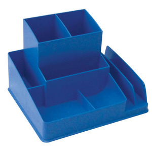 LYRECO COLOURS DESK ORGANISER 163 X 133 X 108MM BLUEBERRY - EACH