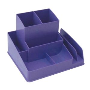 LYRECO COLOURS DESK ORGANISER 163 X 133 X 108MM GRAPE - EACH