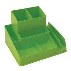 LYRECO COLOURS DESK ORGANISER 163 X 133 X 108MM LIME - EACH
