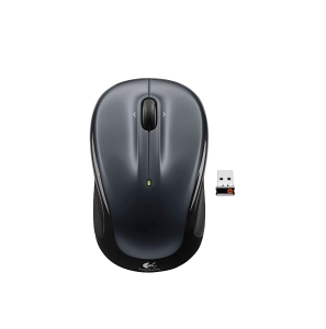 LOGITECH PERFORMANCE M325 WIRELESS MOUSE 39X57MM DARK SILVER - EACH